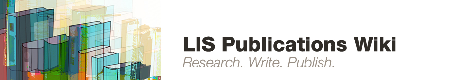 LIS Publications Wiki
